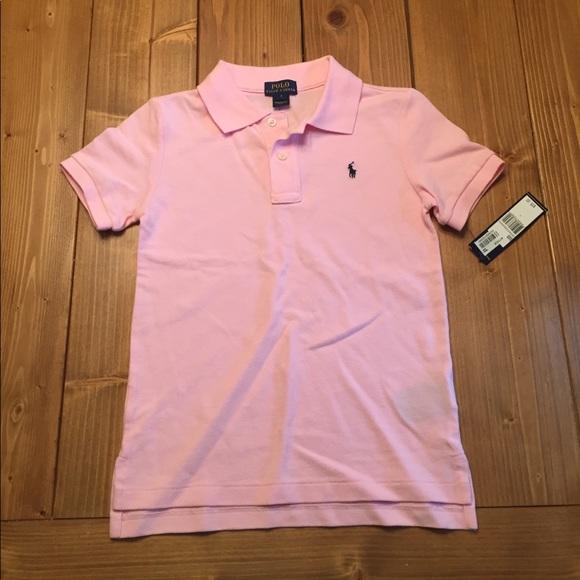 Polo Ralph Lauren Unisex Kids Polo Pink 3a639623a44aa
